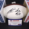 NFL - Eagles Miles Sanders Signed Panel Ball