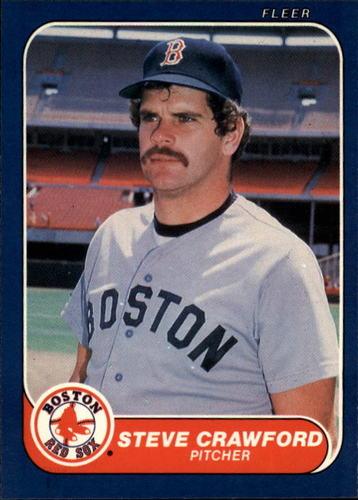 Photo of 1986 Fleer #346 Steve Crawford