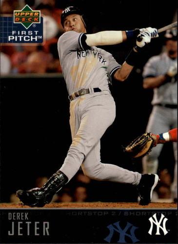 Photo of 2004 Upper Deck First Pitch #127 Derek Jeter