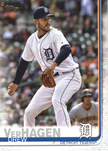 Photo of 2019 Topps #586 Drew VerHagen RC
