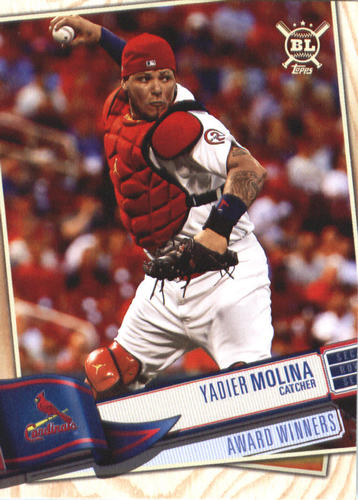 Photo of 2019 Topps Big League #376 Yadier Molina
