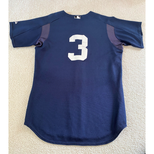 Photo of Gary Sheffield #3 Detroit Tigers Batting Practice Team Issued Jersey (MLB AUTHENTICATED)