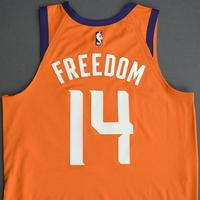 Cheick Diallo - Phoenix Suns - Game-Worn Statement Edition Jersey - Dressed, Did Not Play (DNP) - 2019-20 NBA Season Restart