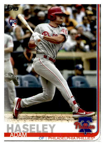 Photo of 2019 Topps Update #US139 Adam Haseley RC