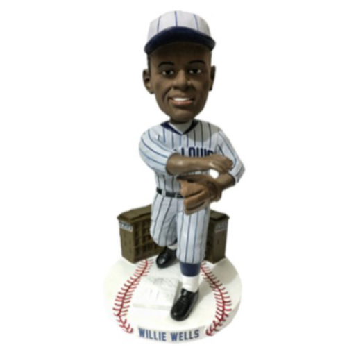 "Photo of NEGRO LEAGUES CENTENNIAL TEAM BOBBLEHEAD SERIES: Willie James ""El Diablo"" Wells"