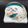 Dolphins - Ryan Tannehill Signed Mini Helmet
