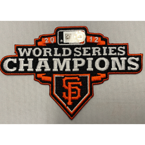 Photo of 2012 World Series Champions Team Issued Patch