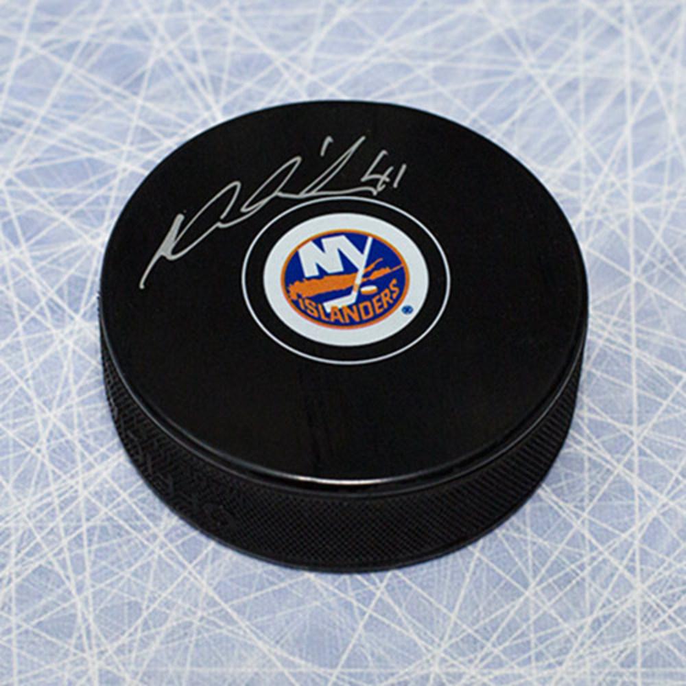 Jaroslav Halak New York Islanders Autographed Hockey Puck