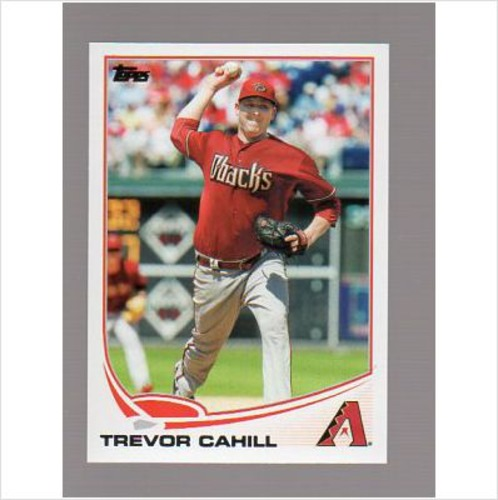 Photo of 2013 Topps #471 Trevor Cahill