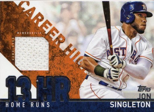 Photo of 2015 Topps Career High Relics #CHRJS Jon Singleton S2