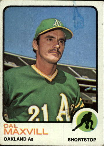 Photo of 1973 Topps #483 Dal Maxvill