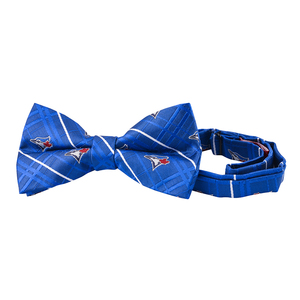 Toronto Blue Jays Checkered Bow Tie Royal by Eagles Wings