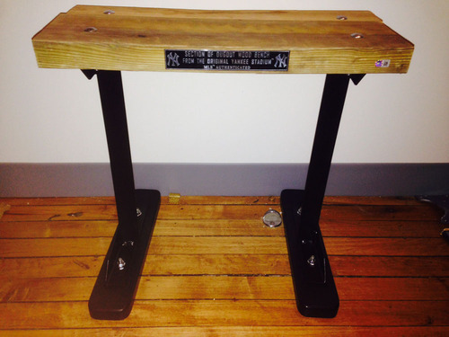 Prime Authentic Game Used Piece Of Dugout Bench From The Old Ocoug Best Dining Table And Chair Ideas Images Ocougorg