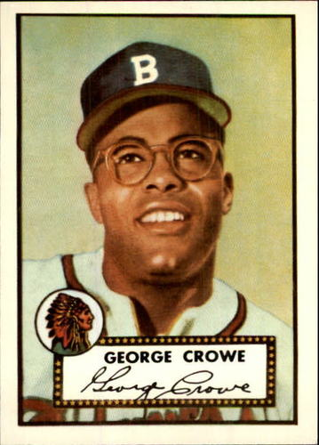 Photo of 1983 Topps 1952 Reprint #360 George Crowe