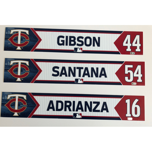 Photo of Locker Nameplate Package