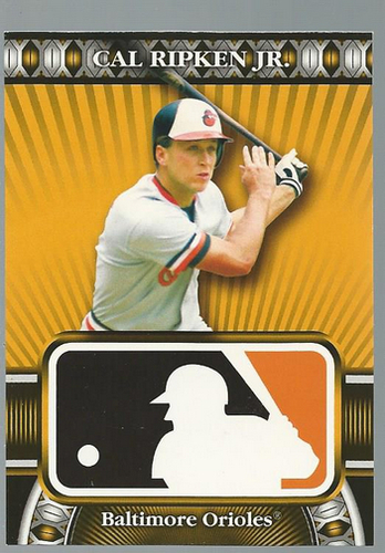 Photo of 2010 Topps Logoman HTA #41 Cal Ripken Jr.