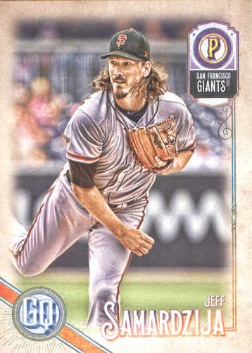 Photo of 2018 Topps Gypsy Queen #17 Jeff Samardzija