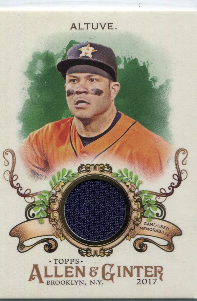 2017 Topps Allen and Ginter Relics  Jose Altuve