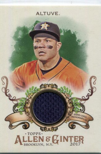 Photo of 2017 Topps Allen and Ginter Relics  Jose Altuve