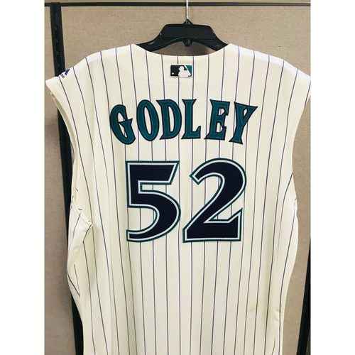 Photo of 2017 Zack Godley Game-Used Jersey