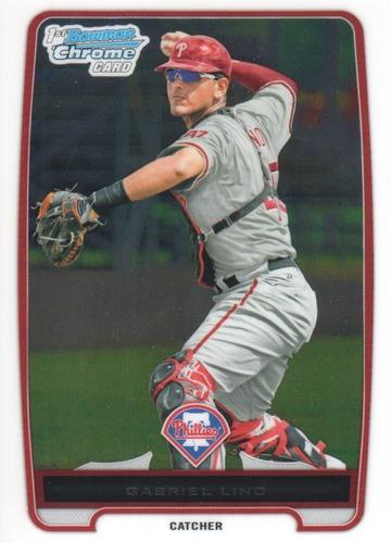 Photo of 2012 Bowman Chrome Prospects #BCP199 Gabriel Lino