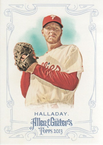 Photo of 2013 Topps Allen and Ginter #134 Roy Halladay