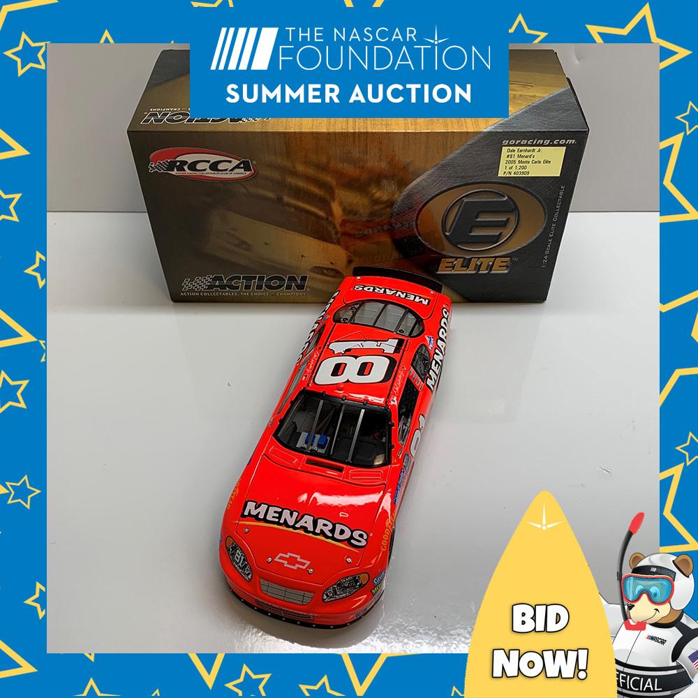 NASCAR's Dale Earnhardt Jr. Menard's Diecast!