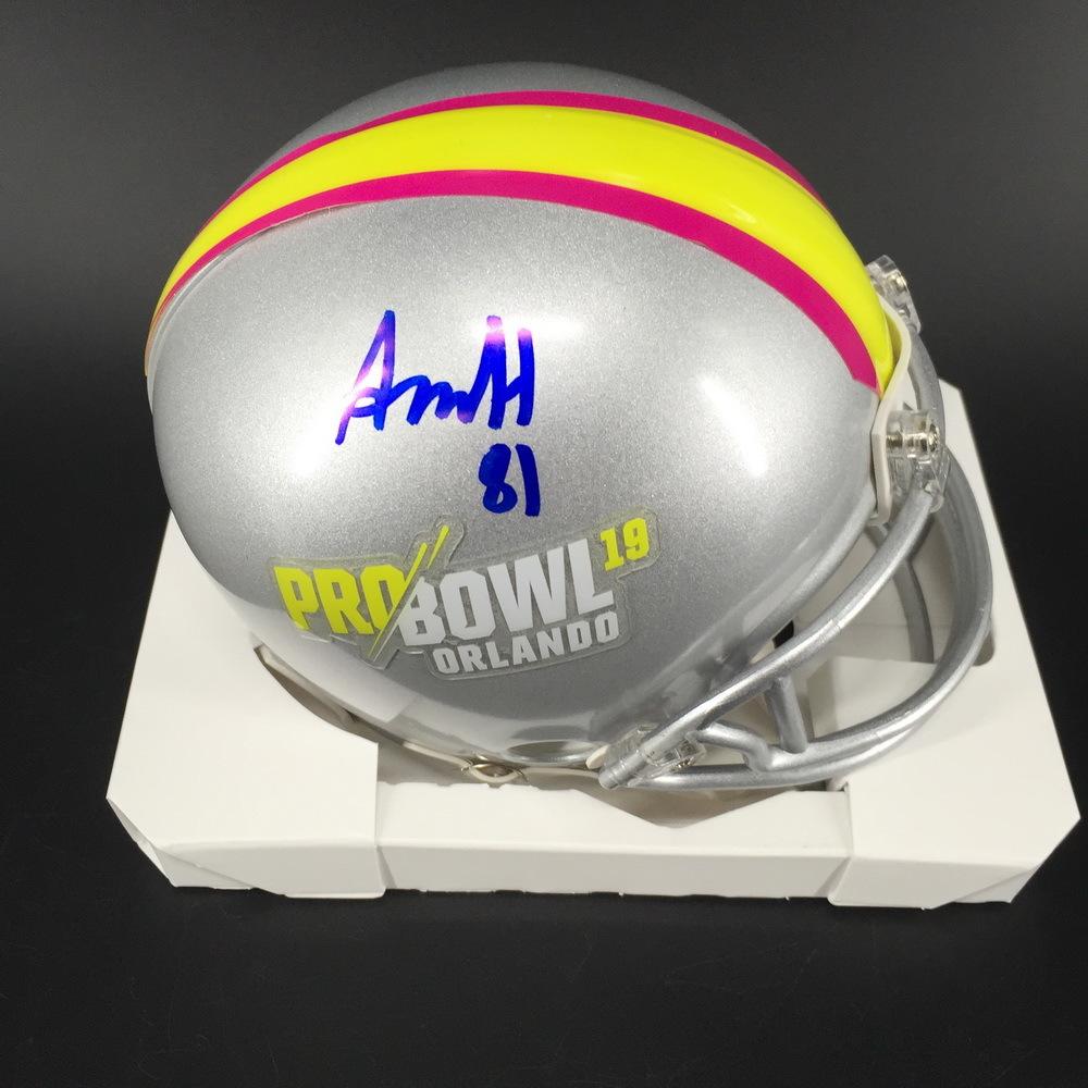 NFL - Falcons Austin Hooper Signed Pro Bowl 2019 Mini Helmet