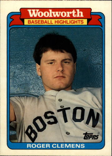 Photo of 1988 Woolworth's Topps #11 Roger Clemens
