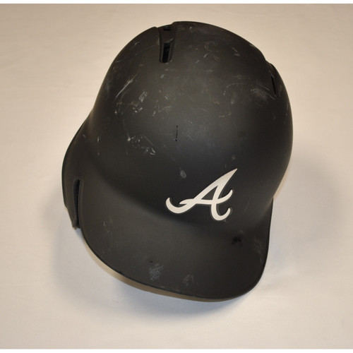 "Photo of Dallas ""BIG D"" Keuchel Atlanta Braves Game-Used 2019 Players' Weekend Helmet"
