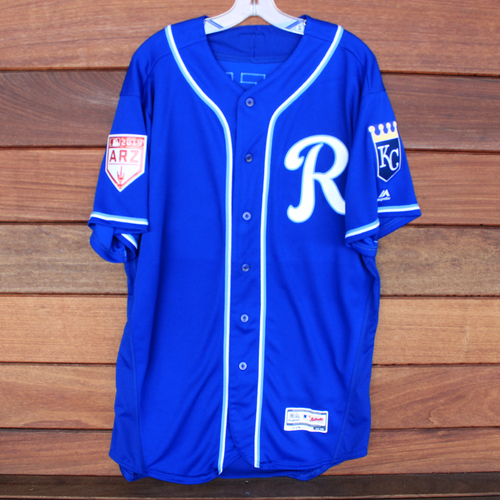 Photo of Team-Issued Spring Training Jersey: Dale Sveum (Size 48)