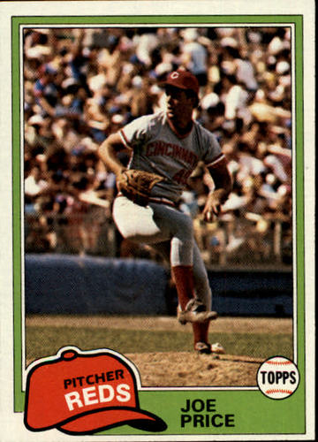 Photo of 1981 Topps #258 Joe Price RC