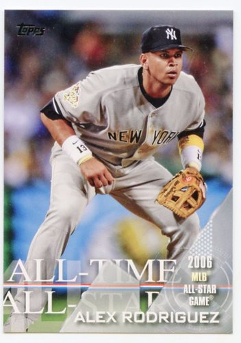 Photo of 2017 Topps All Time All Stars #ATAS45 Alex Rodriguez