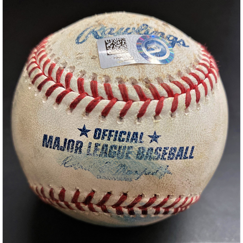 Photo of Game-Used Baseball:  James McCann Chicago White Sox Single (MLB AUTHENTICATED)