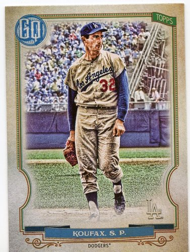 Photo of 2020 Topps Gypsy Queen #315 Sandy Koufax SP