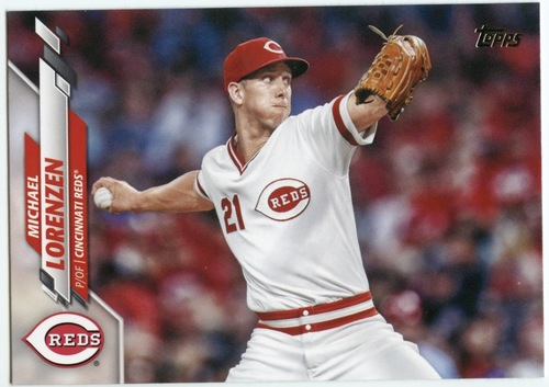Photo of 2020 Topps #510 Michael Lorenzen