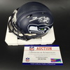 PCF - Seahawks Nick Vannett Signed Mini Helmet