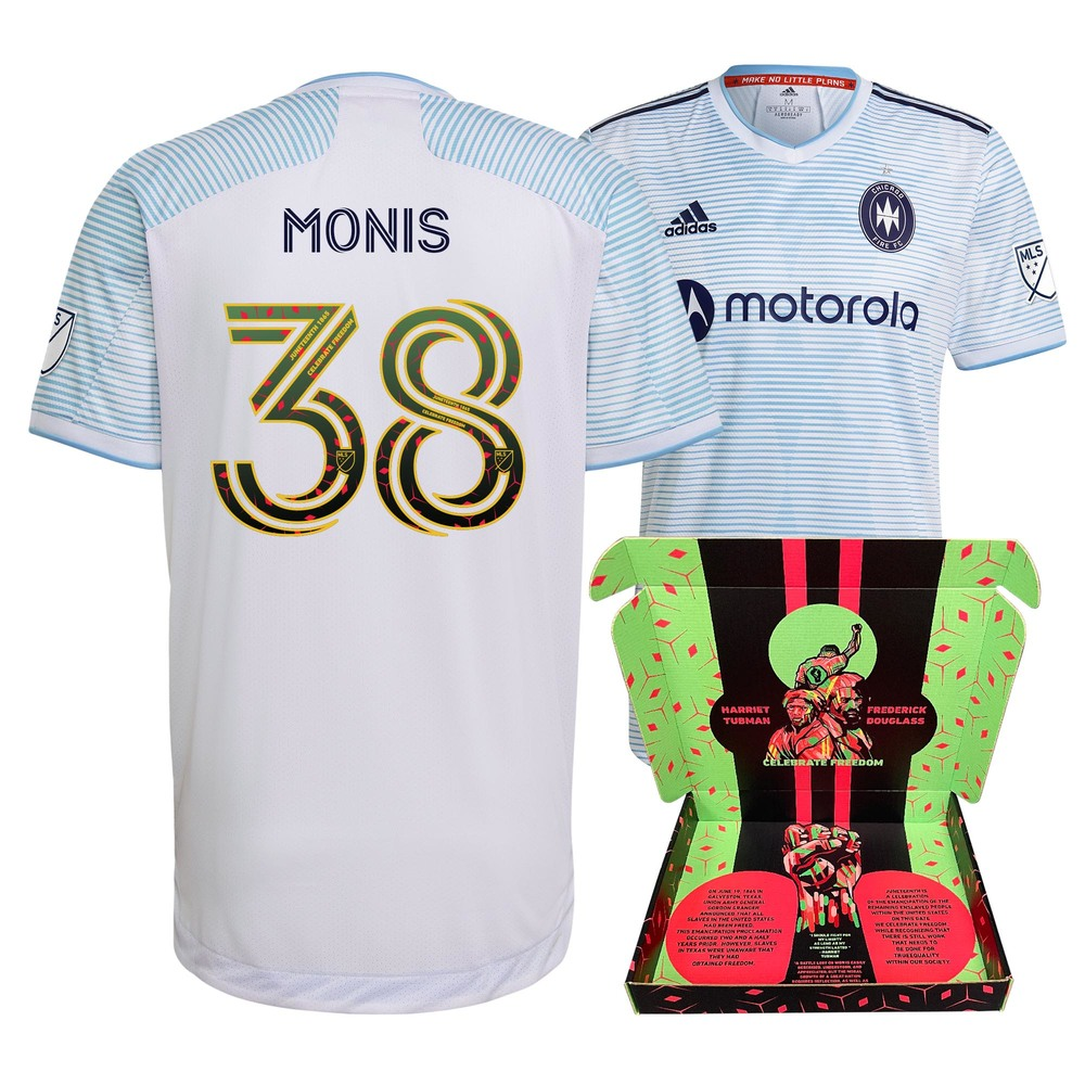 Alex Monis Chicago Fire FC Player-Issued & Signed