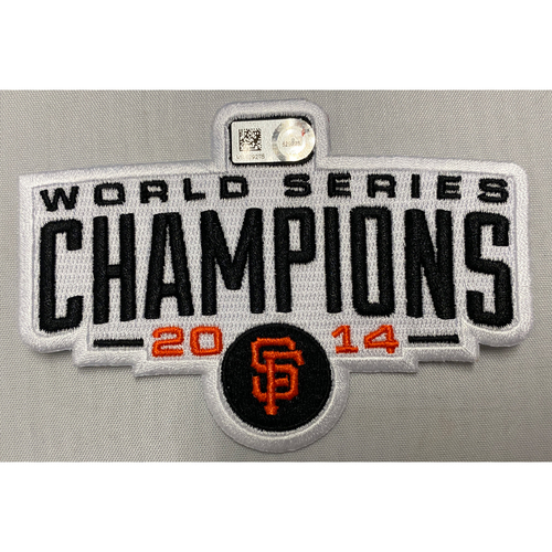 Photo of 2014 World Series Champions Team Issued Patch