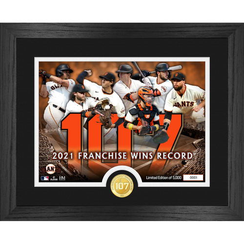 Photo of San Francisco Giants Franchise Wins Record Bronze Coin Photo Mint