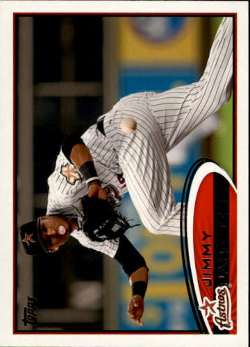 Photo of 2012 Topps #585 Jimmy Paredes