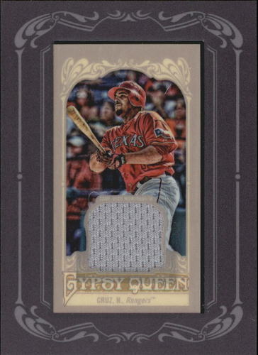 Photo of 2012 Topps Gypsy Queen Framed Mini Relics #NC Nelson Cruz