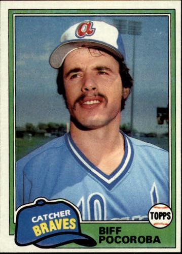Photo of 1981 Topps #326 Biff Pocoroba