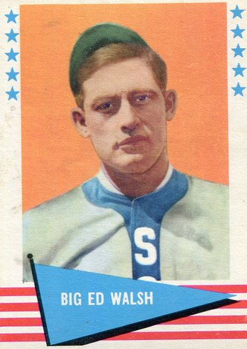 Photo of 1961 Fleer #83 Ed Walsh -- Hall of Fame Class of 1946