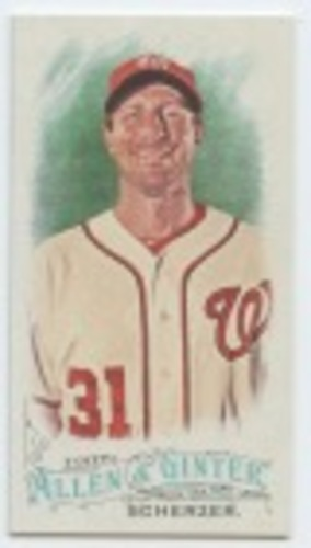 Photo of 2016 Topps Allen and Ginter Mini #170 Max Scherzer