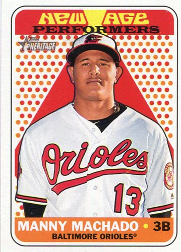 Photo of 2018 Topps Heritage New Age Performers #NAP20 Manny Machado