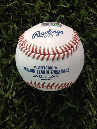 2014 Home Run Derby: Giancarlo Stanton Game-Used HR # 5