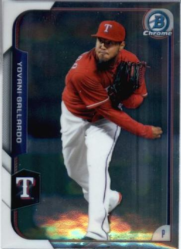 Photo of 2015 Bowman Chrome #68 Yovani Gallardo
