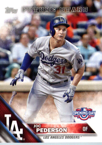 Photo of 2016 Topps Opening Day #OD53 Joc Pederson