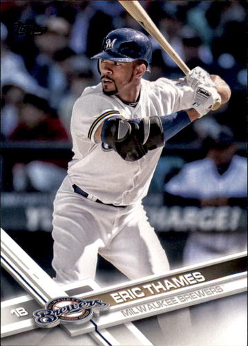 Photo of 2017 Topps #603A Eric Thames